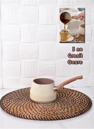 Bayev 3 No Granit Cezve (Pc/3Nc) Renkli